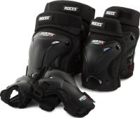 Комплект защиты Roces 6OGCQMRZ1U / S20ERCRO003-BB (M, черный) -