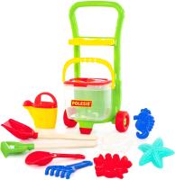 Тележка с игрушками для песочницы Полесье №622 / 67814 -