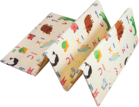 Игровой коврик Evolution Print F Plane and Alphabet Animals (180х200х1) -