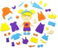 Набор игрушек для ванной El'Basco Toys Аква Одевашка Девочка / 08-005 -