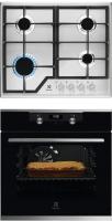 Комплект встраиваемой техники Electrolux OKH5E40X + GEE263MX -