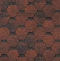 Черепица Технониколь Shinglas Финская Соната Красный (упаковка) -