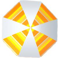 Зонт пляжный Zagorod Z 300 (оранжевый 614) -