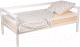 Односпальная кровать детская Polini Kids Simple 850 / 0003090-04 (белый) -