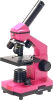 Микроскоп оптический Микромед Эврика 40х–400x / 32309 (фуксия, кейс) -