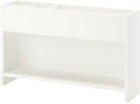 Надстройка для стола Ikea Поль 703.678.92 (белый/зеленый) -