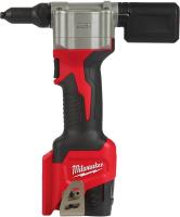 Аккумуляторный заклепочник Milwaukee M12 BPRT-201X / 4933464405 -