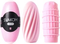 Набор мастурбаторов Svakom Hedy / SSMC02B-DF (розовый) -