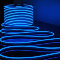 Гибкий неон Elektrostandard LS001 220V 9.6W 120Led 2835 IP67 (50м, синий) -