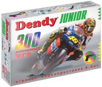 Игровая приставка Dendy Junior 300 игр + световой пистолет -
