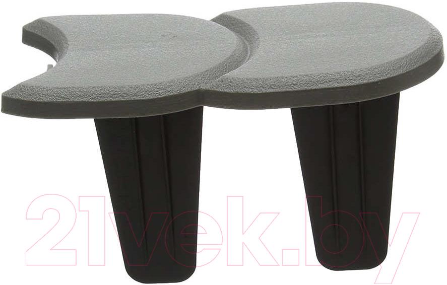 Купить Изгородь декоративная Prosperplast, Palisada Plaska IPAK2-405U (серый), Польша, пластик