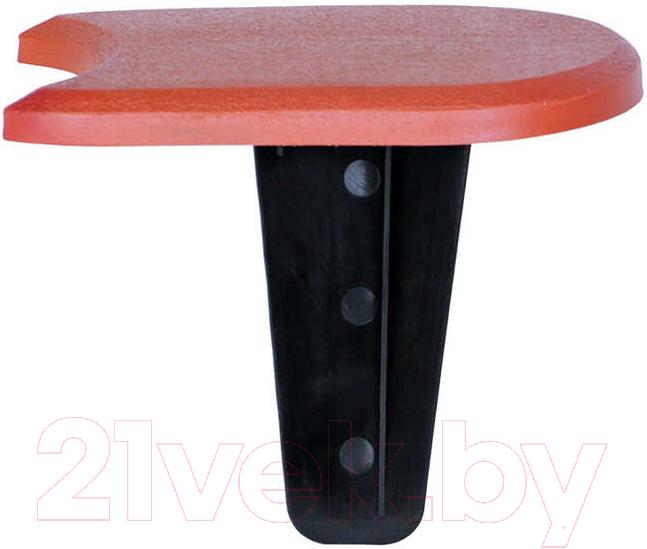 Купить Изгородь декоративная Prosperplast, Palisada Plaska IPAK1S-R624 (терракот), Польша, коричневый, пластик