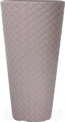 Купить Кашпо Prosperplast, Matuba Slim DPMT400-7529U (мокко), Польша, пластик