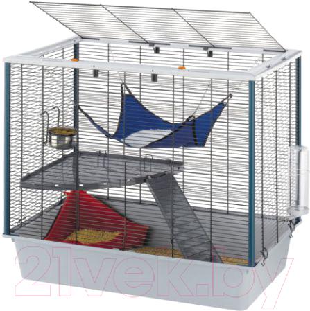 Купить Клетка для грызунов Ferplast, Furat / 57059814, Италия, серый