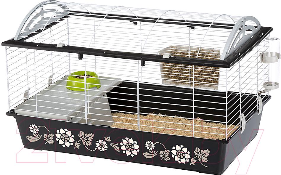 Купить Клетка для грызунов Ferplast, Casita 80 Decor / 57065169W2, Словакия, черный