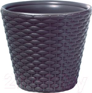 Купить Кашпо Prosperplast, Rato DBR490-S433 (антрацит), Польша, пластик