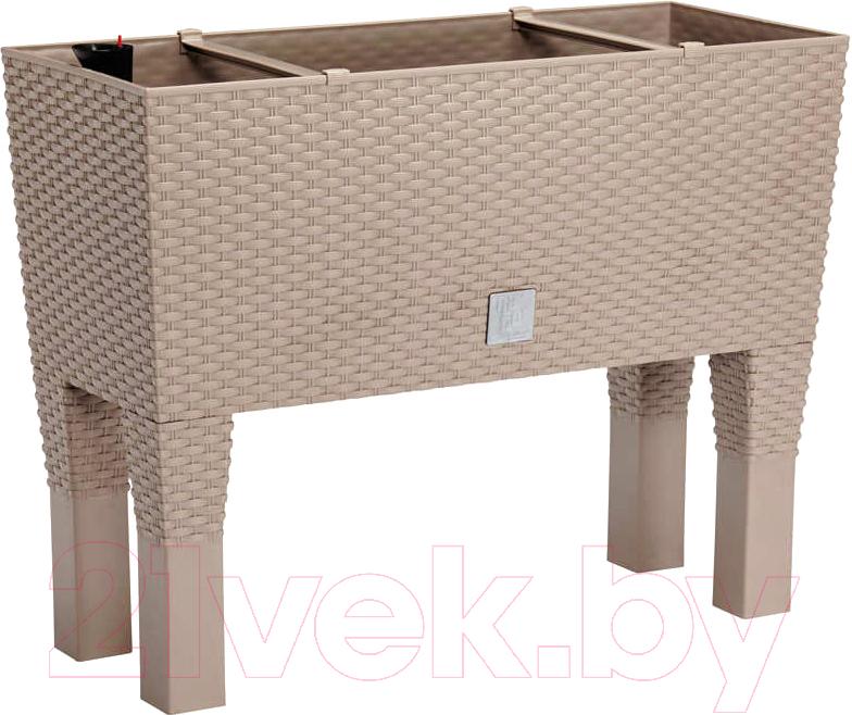 Купить Кашпо Prosperplast, Rato Case High DRTC600H-7529U (мокко), Польша, пластик
