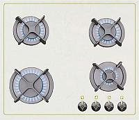 Газовая варочная панель Akpo Elite FQ6TG C FFD Сream Rustic -
