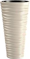 Кашпо Prosperplast Sand Slim DPSA400-CY728 (кремовый) -