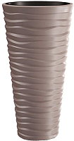 Кашпо Prosperplast Sand Slim DPSA400-7529U (мокко) -