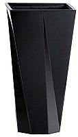 Кашпо Prosperplast Urbi Twist P DURD140P-S411 (черный) -