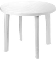 Стол пластиковый Ipae Progarden Tondo / TON036BI (белый) -
