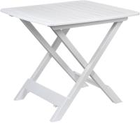 Стол пластиковый Ipae Progarden Tevere / TEV050BI (белый) -