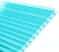 Сотовый поликарбонат TitanPlast 2100x6000x3.8 (бирюзовый) -