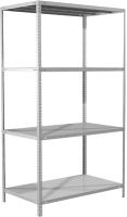Стеллаж металлический Brabix Ms Plus-185/60-4 / 291107 -
