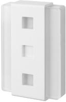 Электрический звонок Zamel GNS-248 / GNS-248-BIA (стекло/белый) -