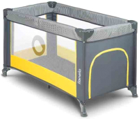 Кровать-манеж Lionelo Stefi (желтый) -