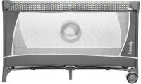 Кровать-манеж Lionelo Flower (серый) -