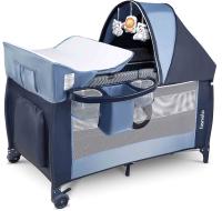 Кровать-манеж Lionelo Sven Plus (темно-синий) -