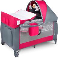 Кровать-манеж Lionelo Sven Plus (розовый) -