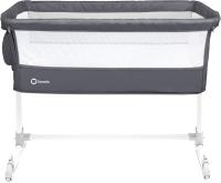 Детская кроватка Lionelo Theo (темно-серый) -