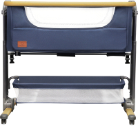 Детская кроватка Lionelo Timon (темно-синий) -