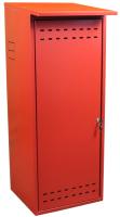 Шкаф для газового баллона КомфортПром 10013072 (красный) -