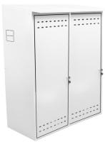 Шкаф для газового баллона КомфортПром 10013074 (белый) -