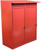 Шкаф для газового баллона КомфортПром 10013075 (красный) -