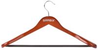 Вешалка-плечики Brabix Люкс р.48-50 / 601164 (вишня) -