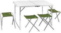 Комплект складной мебели Jungle Camp Event 95 / 70742 (зеленый) -