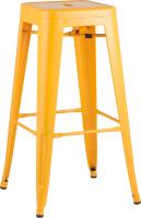 Табурет барный Stool Group Tolix / YD-H765 LG-06 (желтый глянцевый) -