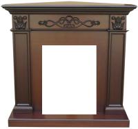 Портал для камина Смолком Verona Corner STD-ASP (махагон коричневый антик) -
