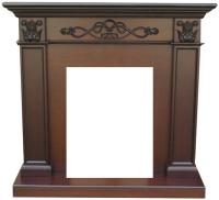 Портал для камина Смолком Verona STD-ASP (махагон коричневый антик) -