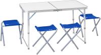 Комплект складной мебели Jungle Camp Event 95 / 70743 (голубой) -