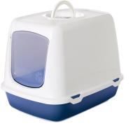 Туалет-домик Savic Oscar / 02650WCB (белый/синий) -