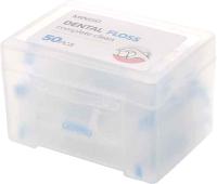 Зубная нить Miniso 5916 (белый, 50шт) -