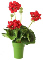Искусственный цветок GrenTrade Герань Асти / 11597 -