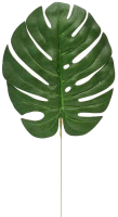 Искусственное растение GrenTrade Лист монстеры Ласор / 11295 -