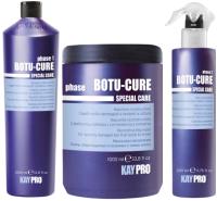 Набор косметики для волос Kaypro Special Care Botu-Cure д/сильно повр. маска+шампунь+кондиционер (1л+1л+200мл) -